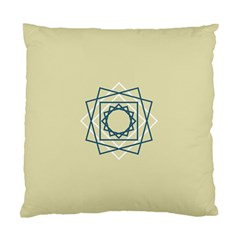 Shape Experimen Geometric Star Plaid Sign Standard Cushion Case (two Sides) by Alisyart