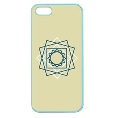Shape Experimen Geometric Star Plaid Sign Apple Seamless Iphone 5 Case (color)