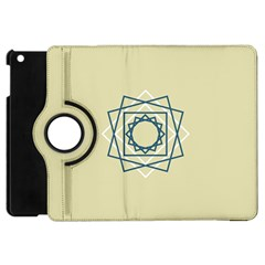 Shape Experimen Geometric Star Plaid Sign Apple Ipad Mini Flip 360 Case by Alisyart