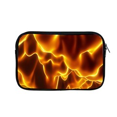 Sea Fire Orange Yellow Gold Wave Waves Apple Macbook Pro 13  Zipper Case by Alisyart