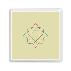 Shape Experimen Geometric Star Sign Memory Card Reader (square)