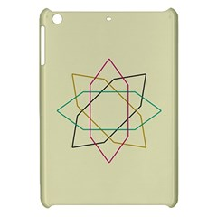 Shape Experimen Geometric Star Sign Apple Ipad Mini Hardshell Case