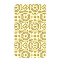 Gold Geometric Plaid Circle Memory Card Reader by Alisyart