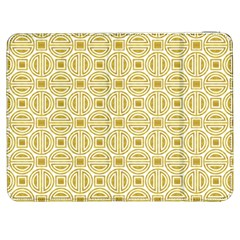 Gold Geometric Plaid Circle Samsung Galaxy Tab 7  P1000 Flip Case