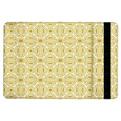 Gold Geometric Plaid Circle Ipad Air Flip