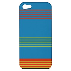 Sketches Tone Red Yellow Blue Black Musical Scale Apple Iphone 5 Hardshell Case by Alisyart