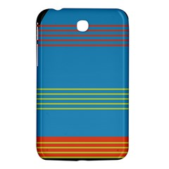 Sketches Tone Red Yellow Blue Black Musical Scale Samsung Galaxy Tab 3 (7 ) P3200 Hardshell Case  by Alisyart