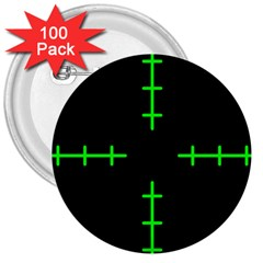 Sniper Focus 3  Buttons (100 Pack)  by Alisyart