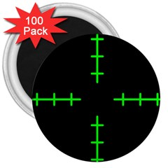 Sniper Focus 3  Magnets (100 Pack) by Alisyart