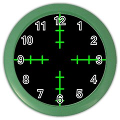 Sniper Focus Color Wall Clocks by Alisyart