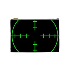 Sniper Focus Cosmetic Bag (medium)  by Alisyart