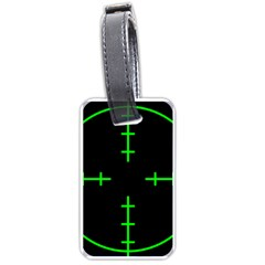 Sniper Focus Luggage Tags (one Side)  by Alisyart