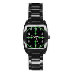 Sniper Focus Stainless Steel Barrel Watch