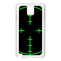 Sniper Focus Samsung Galaxy Note 3 N9005 Case (white) by Alisyart