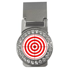 Sniper Focus Target Round Red Money Clips (cz)  by Alisyart