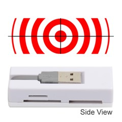 Sniper Focus Target Round Red Memory Card Reader (stick)  by Alisyart