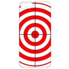 Sniper Focus Target Round Red Apple Iphone 5 Classic Hardshell Case by Alisyart