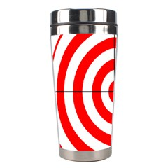 Sniper Focus Target Round Red Stainless Steel Travel Tumblers