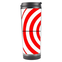 Sniper Focus Target Round Red Travel Tumbler by Alisyart