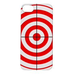 Sniper Focus Target Round Red Apple Iphone 5s/ Se Hardshell Case