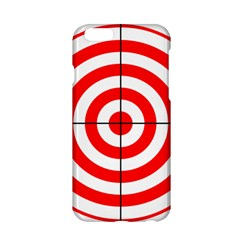 Sniper Focus Target Round Red Apple Iphone 6/6s Hardshell Case by Alisyart