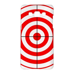 Sniper Focus Target Round Red Samsung Galaxy A5 Hardshell Case  by Alisyart