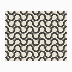 Shutterstock Wave Chevron Grey Small Glasses Cloth by Alisyart