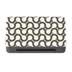 Shutterstock Wave Chevron Grey Memory Card Reader With Cf by Alisyart