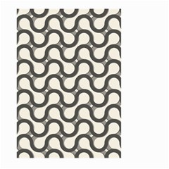 Shutterstock Wave Chevron Grey Large Garden Flag (two Sides)