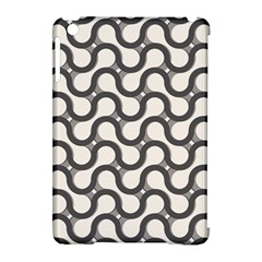 Shutterstock Wave Chevron Grey Apple Ipad Mini Hardshell Case (compatible With Smart Cover)