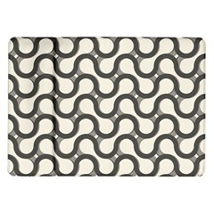Shutterstock Wave Chevron Grey Samsung Galaxy Tab 10 1  P7500 Flip Case