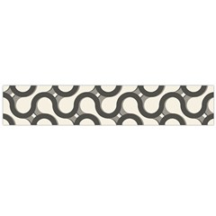Shutterstock Wave Chevron Grey Flano Scarf (large)