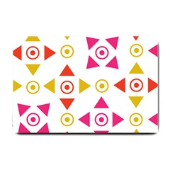 Spectrum Styles Pink Nyellow Orange Gold Small Doormat  by Alisyart
