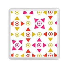 Spectrum Styles Pink Nyellow Orange Gold Memory Card Reader (square)  by Alisyart