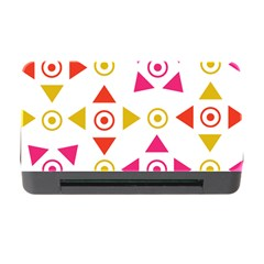 Spectrum Styles Pink Nyellow Orange Gold Memory Card Reader With Cf by Alisyart