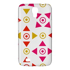 Spectrum Styles Pink Nyellow Orange Gold Samsung Galaxy Mega 6 3  I9200 Hardshell Case