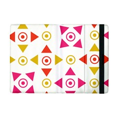 Spectrum Styles Pink Nyellow Orange Gold Ipad Mini 2 Flip Cases by Alisyart
