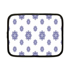 Snow Blue White Cool Netbook Case (small)  by Alisyart