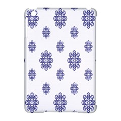 Snow Blue White Cool Apple Ipad Mini Hardshell Case (compatible With Smart Cover) by Alisyart