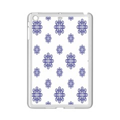 Snow Blue White Cool Ipad Mini 2 Enamel Coated Cases