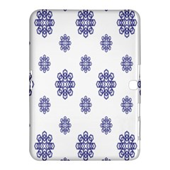 Snow Blue White Cool Samsung Galaxy Tab 4 (10 1 ) Hardshell Case  by Alisyart