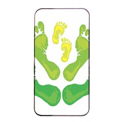 Soles Feet Green Yellow Family Apple Iphone 4/4s Seamless Case (black) by Alisyart