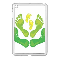 Soles Feet Green Yellow Family Apple Ipad Mini Case (white) by Alisyart