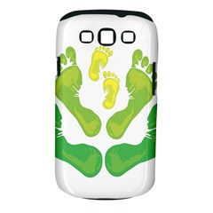 Soles Feet Green Yellow Family Samsung Galaxy S Iii Classic Hardshell Case (pc+silicone) by Alisyart