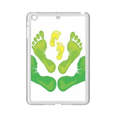 Soles Feet Green Yellow Family Ipad Mini 2 Enamel Coated Cases
