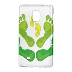 Soles Feet Green Yellow Family Galaxy Note Edge