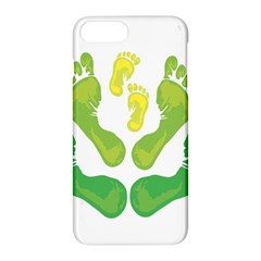 Soles Feet Green Yellow Family Apple Iphone 7 Plus Hardshell Case
