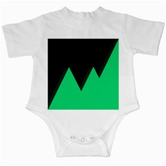 Soaring Mountains Nexus Black Green Infant Creepers by Alisyart