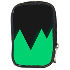 Soaring Mountains Nexus Black Green Compact Camera Cases by Alisyart
