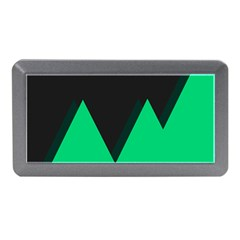 Soaring Mountains Nexus Black Green Memory Card Reader (mini) by Alisyart